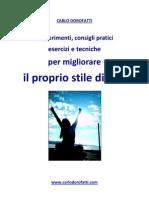 STILE DI VITA Di Carlo Dorofatti