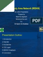 Wireless Body Area Network (WBAN)