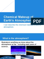 Atmosphere Chemistry Notes