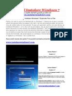 Girlshare_Manual Instalare Windows 7 Pas Cu Pas