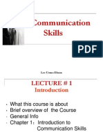 Communication Skills Lec 1