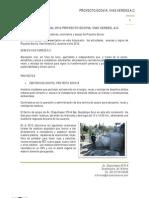 Informe de Actividades Proyecto Ecovia 2012