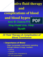Periop Fluid Therapy & Blood