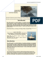Operational OcOperational Oceanographic
