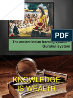 Ancient Indian Learning System - Gurukul System