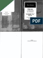 Duque Felix Hegel La Especulacion de La Indigencia