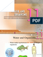 Water and Organisms Arist