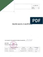 Manualul Calitatii