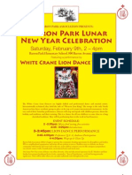 Community-wide Cultural Event   For Lunar New Year ( in Palo Alto)  CD Promotion Event