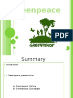 Green Peace Power Point