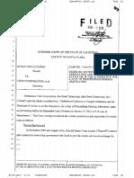 Susan Vinci-Lucero case Inbox Motion to Arbitrate Denied