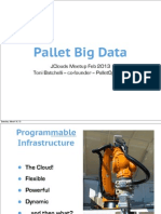 Pallet Big Data - JClouds Meetup 2013