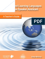 Native Speaker Assistant - Teachers Guide