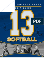 2013 Phoenix College Softball Media Guide