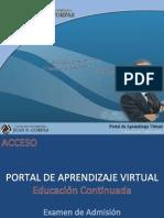 Instrucciones Examen de Admision Unicorpas