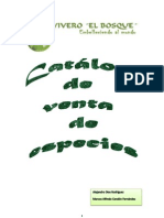 Catalogo de Especies Forestales