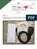 Cable Diagnosis Vag Com 11. 11 Ultima Version - ForoCoches