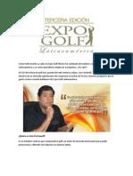 Conoce un poco más a fondo ¿Qué es la Expo Golf Latinoamérica y quién es CEO de la misma?