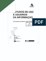 Estudos de uso e usuários da informação