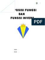 Handout Komposisi Fungsi Dan Fungsi Invers
