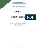 Bft Anatomia Si Fiziologia Sistemului Locomotor