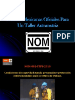 Normas Mexicanas Para Un Taller Automotriz 1