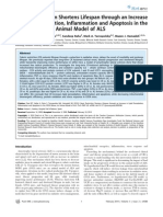 046160 Caloric Restriction Shortens Lifespan Through an Increase in Lipid Peroxidation Inflammation and Apoptosis in the G93A Mouse an Animal Model of ALS