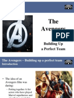 The Avengers - Building up a perfect team