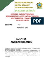 PPT AGENTES ANTIBACTERIANOS