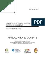 Manual para Educación Media Superior de Chihuahua 2012