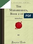 The Mahabharata Book 2 of 18 Sabha Parva