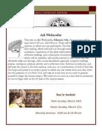 Newsletter - February 2013