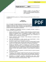 Projeto Alteração CMAS