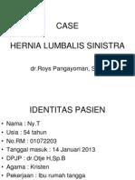 CASE Hernia LumbaLIS