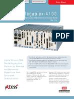 Hoja de Datos Megaplex-4100 Ver. 3.0