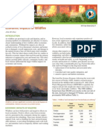 Economic Impacts of Wildfire