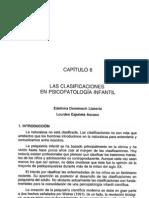 0 - Clasificaciones en Psicopatologia Infantil Lourdes Ezpeleta