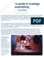 Beginner's Guide to Fuselage Building