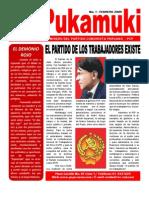 PUKAMUKI Boletin de los comunistas en el sector minero