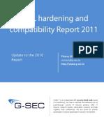 TLS SSL Hardening and Compatibliy Report 2011