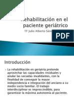 Rehabilitación en el paciente geriátrico