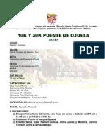Convocatoria 10k y 20k Puente de Ojuela