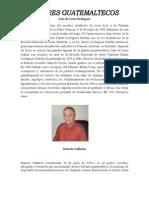 PINTORES GUATEMALTECOS