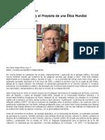 _Hans Kung y La Etica Mundial