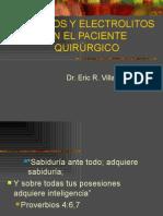 Liquidos y Electrolitos en El Paciente Quirurgico.