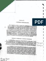 Controles Intraorganos, Interorganos, Controles Entre Parlamento y Gobierno, Capitulo 6 y 7