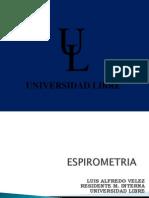Espirometria Dr. Velez