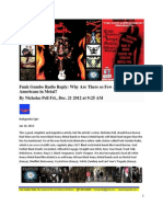 Funk Gumbo Radio Reply - Why Are So Few African-Americans In Metal By Nicholas Pell - 12-21-2012 - LA Weekly
