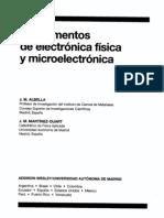 UNED.fisiCA.albella, J. M. - Fundamentos de Electronica Fisica y Microelectronica