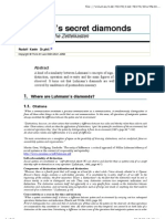 Rudolf Kaehr - Luhmann's Secret Diamonds